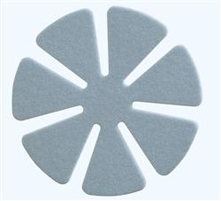 1-Step Polishing Pads for CR-39, Mid-Index and High-Index - PREMIUM Blue