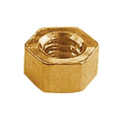 1.40x2.50 Gold Rimless Hex Nuts (pack of 50)