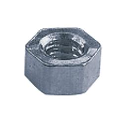 1.40x2.50 Silver Rimless Hex Nuts (pack of 50)
