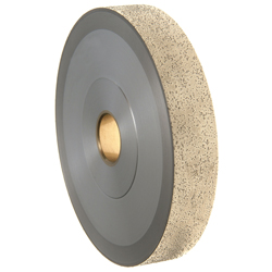 Weco 20 mm, Undercut, Brazed Roughing Wheel for Plastic/ Polycarbonate
